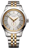 Victorinox Men's 'Alliance' Swiss Quartz Stainless Steel Casual Watch, Color:Two Tone (Model: 241764)