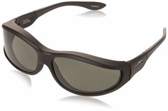 Dioptics Haven Fit On Sunwear Tolosa Fit On Sunglasses Black Frame/Gray Lens one size