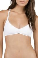 Volcom Women's Simply Solid V-Neck Bikini Top