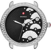 Michele 16mm Serein Diamond Fan Watch, Black