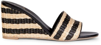 Kate Spade Linda Woven Wedge Sandals