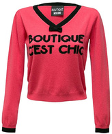 Moschino Boutique C'est Chic Top