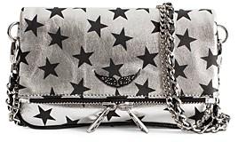 Zadig & Voltaire Rock Circus Stars Lambskin Leather Crossbody Bag