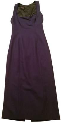 L'Wren Scott Purple Wool Dress for Women