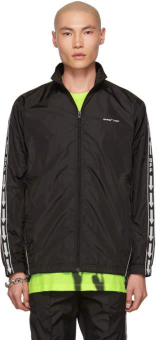 Off-White Black Tracktop Jacket
