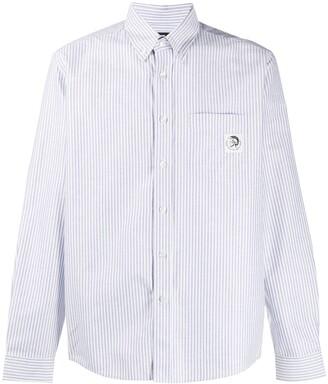 Diesel Long Sleeve Striped Print Shirt