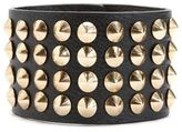 Charlotte Russe Spiked Pleather Cuff Bracelet