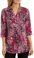 Regatta Tile Tuck Front 3/4 Sleeve Shirt