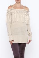 Umgee USA Fringe Sweater