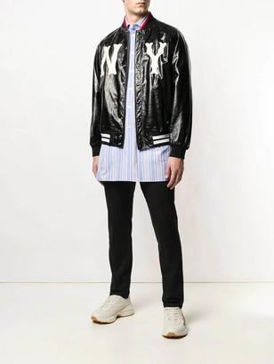 Gucci Striped Oversized Shirt