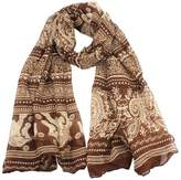 ABC Scarf, Women Ladies Neck Stole Elephant Print Long Scarf Shawl Wrap Pashmina