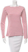 Petit Bateau Striped Crew Neck Top