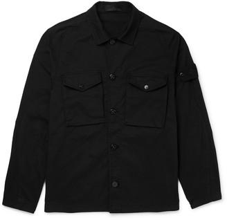Stone Island Cotton-Blend Twill Overshirt