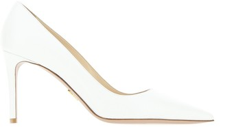 Prada Saffiano Pointed Toe Pumps