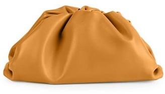 Bottega Veneta Large The Pouch Leather Clutch