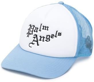 Palm Angels logo mesh baseball cap