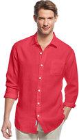 Tommy Bahama Men's Sea Glass Breezer Linen Shirt