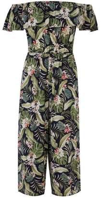 Oasis Tropical Bardot Jumpsuit