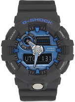 G-Shock Mens Black&Blue Shock resistant Ga-710-1A2Er Watch