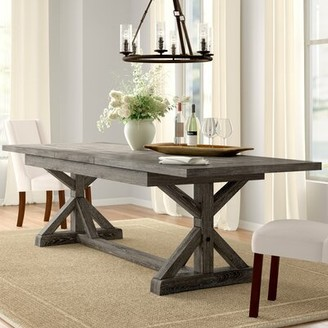 Three Posts Dumfries Extendable Dining Table