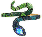 Betsey Johnson Garden Of Excess Snake Hinge Bracelet