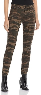 AG Jeans Prima Skinny Jeans in Saltwater Camo Green Haven