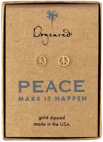 'Peace' Stud Earrings