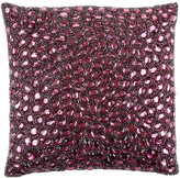 Aviva Stanoff Jewel Bed Cushion 25x25cm - Berry