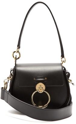 Chloé Tess Small Leather Cross-body Bag - Black