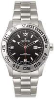 Croton Mens Silver Tone Bracelet Watch-Ca301247ssbk