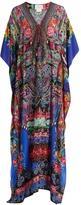 Camilla Pretty Precession-print silk kaftan