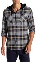 Burnside Plaid Hooded Flannel
