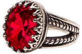Femme Metale Jewelry Guinevere Ring Red