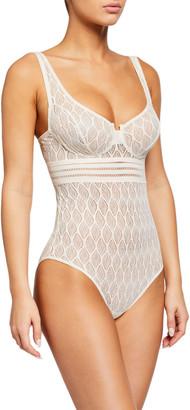 ELSE Belize Underwire Lace Bodysuit
