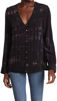 Fifteen-Twenty Tie Dye Silk Blouse