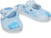 Birkenstock Girls Dorian Birko-Flor Narrow Fit Sandals Princess Cinderella Blue