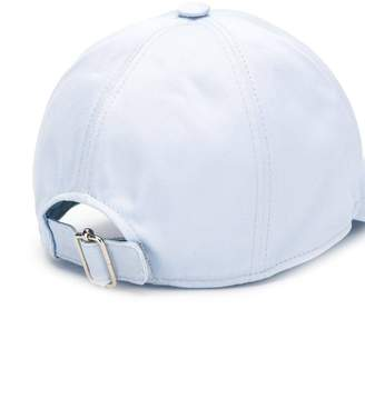Thom Browne classic embroidered baseball cap light blue