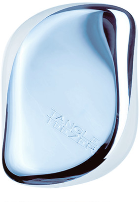 Tangle Teezer Compact Styler Detangling Hairbrush - Sky Blue Delight Chrome