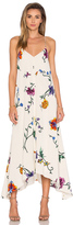 Tibi Strappy Hankerchief Dress