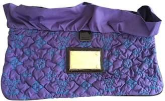 Louis Vuitton Purple Cloth Clutch bags