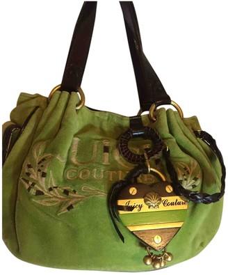 Juicy Couture Green Velvet Handbags