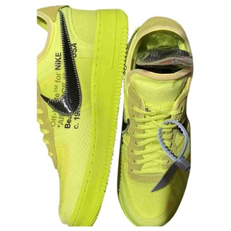 Nike x Off-White Air Force 1 Yellow Other Trainers