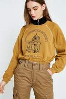 Urban Renewal Vintage Customised Overdyed Cropped Sweatshirt