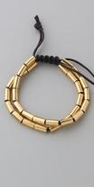 Bop Bijoux Gold Tubular Bracelet