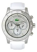 Lacoste Women's Charlotte White/Silver Watch