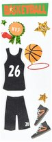 Jolee's Boutique A Touch Of Jolee's Dimensional Stickers, Basketball