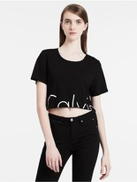 Calvin Klein Cropped Logo T-Shirt