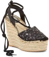 Ash Tessa Bis Espadrille Platform Wedge Sandal