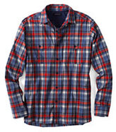 Classic Men's Pattern Active Shirt-Blue Jay