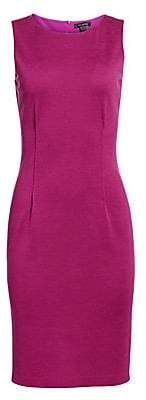 St. John Women's Milano Knit Sheath Dress